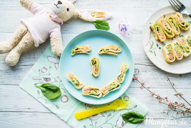 Pfannkuchen sind auch toll für Babys und Kleinkinder und können ganz einfach als Fingerfood gegessen werden. Mehr leckere Rezepte findet ihr bei uns auf mampfbar.de