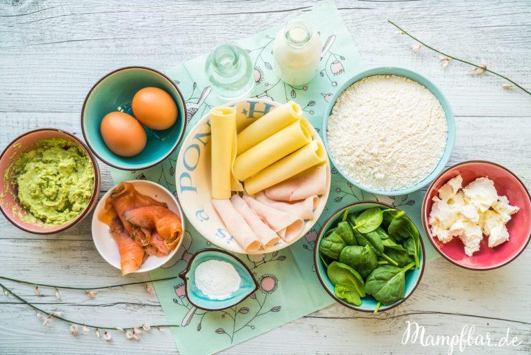 Leckeres und schnelles Rezept für die ganze Familie: ganz einfache Pfannkuchen. Mehr leckere Rezepte für eure Kinder findest du bei uns auf mampfbar.de
