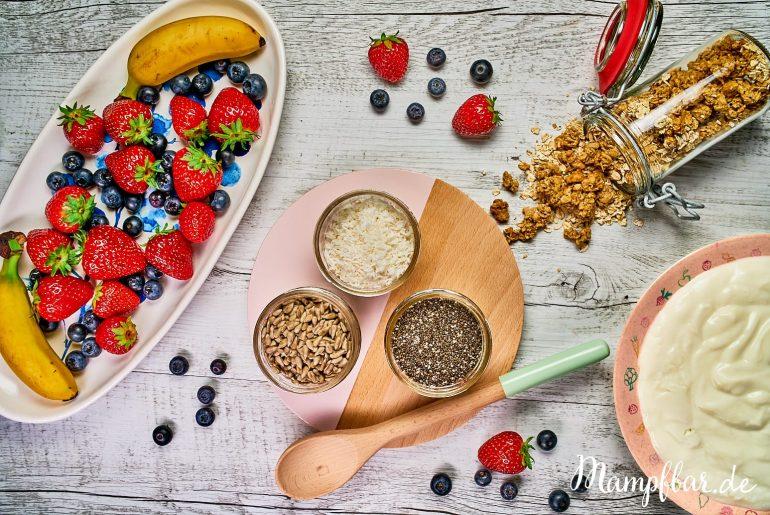 Für müde Eltern: ein ganz einfaches Frühstück für die ganze Familie. Klick hier für weitere leckere Ideen für dich und deine Kinder.