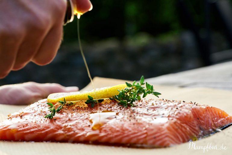 Schnell, einfach und richtig lecker: Lachs aus dem Ofen