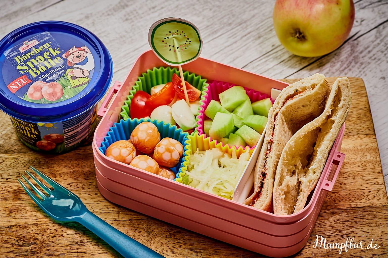2 einfache Brotdosen/Lunchbox Rezepte für die Kita oder Schule - ganz schnell gemacht.