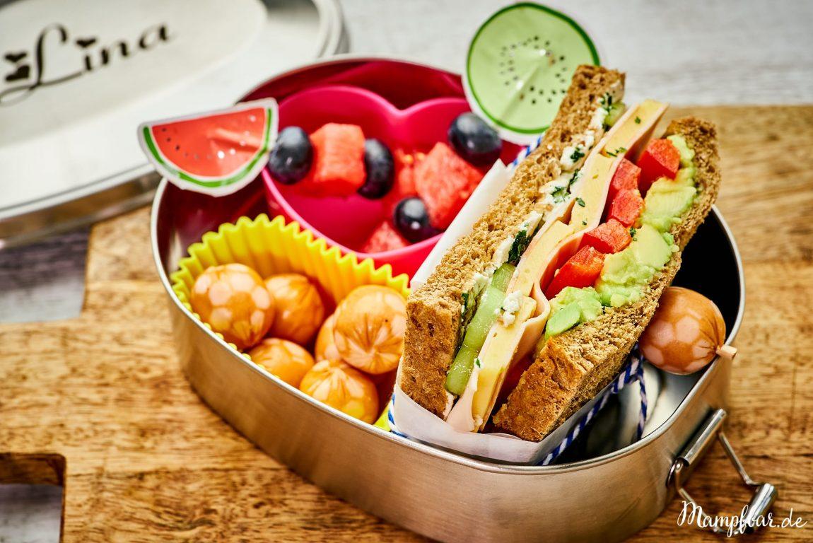 2 leckere Back to School Lunchbox/Brotdosen Ideen   mampfbar
